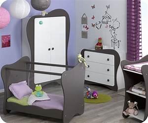 Chambre De Bébé Complete : chambre b b compl te blanc et taupe iris ~ Teatrodelosmanantiales.com Idées de Décoration