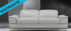 Canape Design Et Confortable : ce nouveau canap cuir design phoenix est juste poustouflant contemporain et confortable c ~ Teatrodelosmanantiales.com Idées de Décoration