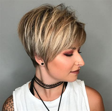 short hairstyles for women with thick hair hair and