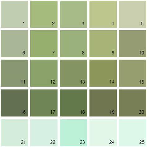 benjamin paint colors green palette 13 house