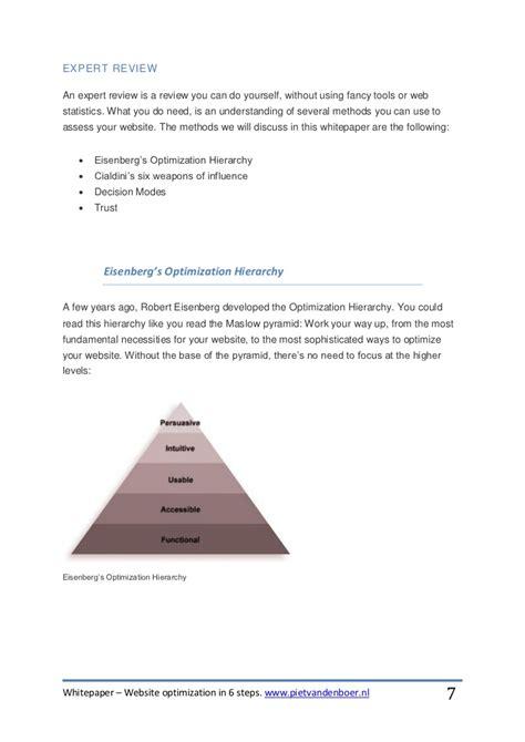 What Is Website Optimisation by Whitepaper Website Optimization In 6 Steps