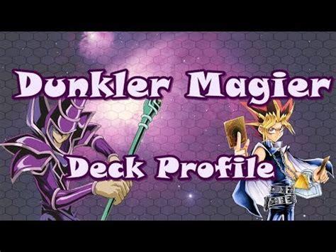 Dunkler Magier Deck Profile  Deutsch Youtube