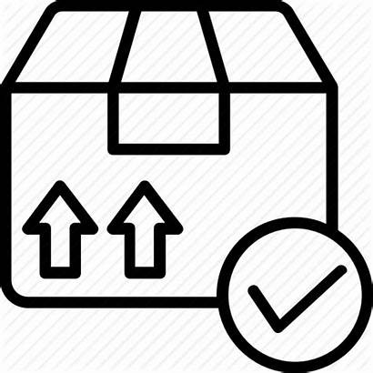 Order Icon Sales Delivery Place Check Note