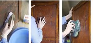 Comment Transformer Une Armoire Ancienne : repeindre une armoire avec un effet patine lib ron d co cool ~ Melissatoandfro.com Idées de Décoration
