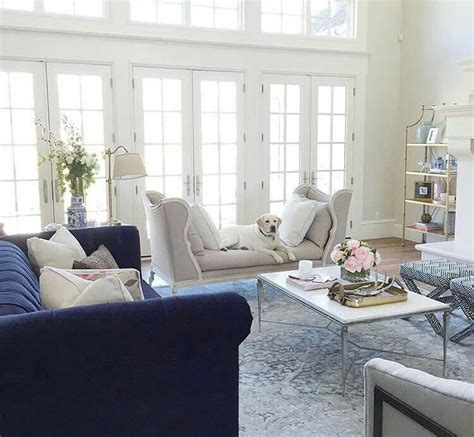blue and white decor navy lounge quality living room