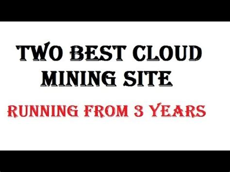 best cloud mining auto mine crypto currency two best cloud mining site
