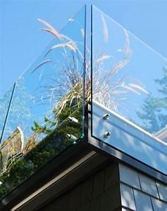 Glas Balkongeländer Rahmenlos : terrasse mit gel nder aus glas selber machen pinterest gel nder terrasse und glas ~ Frokenaadalensverden.com Haus und Dekorationen