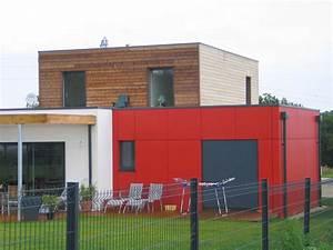 maison bois 80m2 l39habis With creer une maison en 3d 2 chalet bois kit habitable lhabis