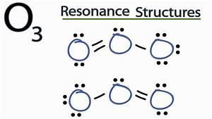 O3 Resonance Structures (Ozone) - YouTube