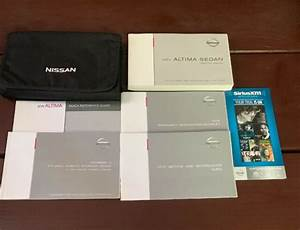 2015 Nissan Altima Sedan Owners Manual With Case And