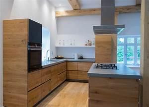 Arbeitsplatte Küche Eiche : wir fertigten diese wundersch ne k che mit ~ A.2002-acura-tl-radio.info Haus und Dekorationen