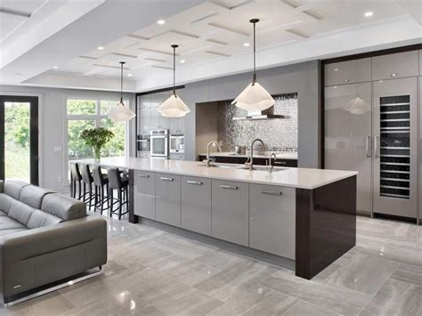 Modern Coffered Ceiling by Designers Are Taking Ceiling Treatments To New Heights