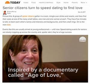 speed dating for seniors in michigan