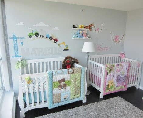babyzimmer maedchen und junge einige kombinierte