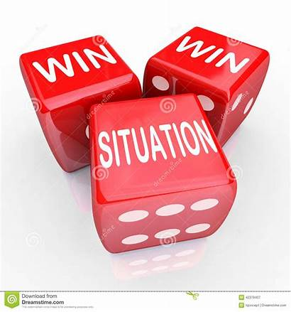 Win Situation Enter Agreement Contest Words Dice
