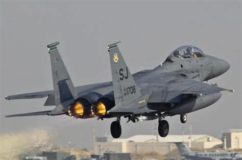 Dod F15s Scrambled After Syria Bombs Near Us Forces Upicom