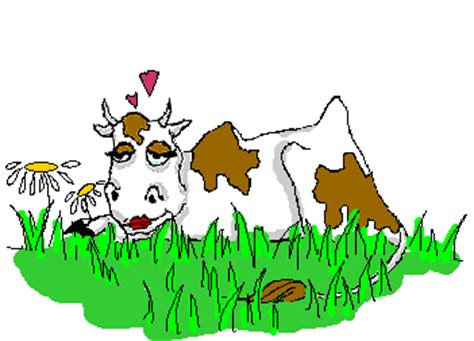 Анимация картинки корова