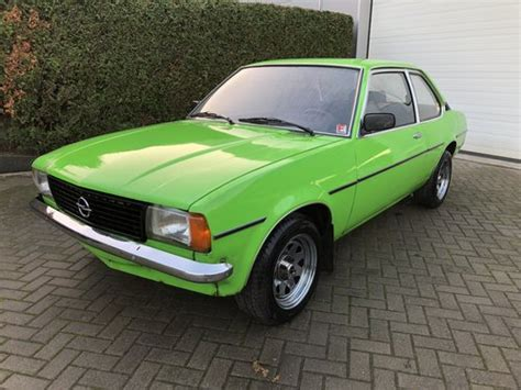 Opel Ascona For Sale by 1977 Opel Ascona B 1900 De Luxe 2dr Vauxhall For Sale