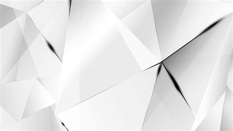 Abstract Black Bg by Wallpapers Black Abstract Polygons White Bg By