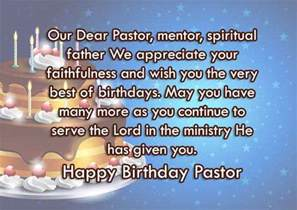 Pastor Birthday Wishes Quotes
