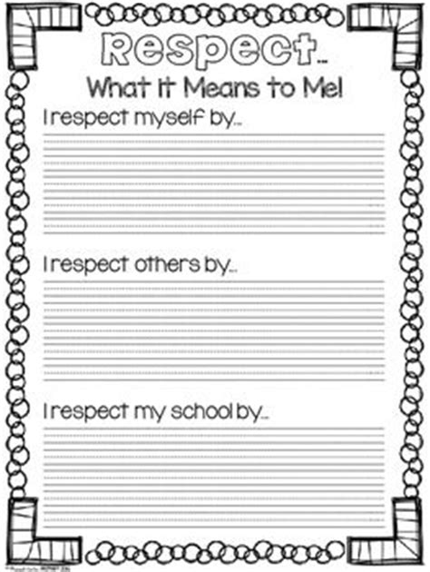 25 best ideas about respect activities on