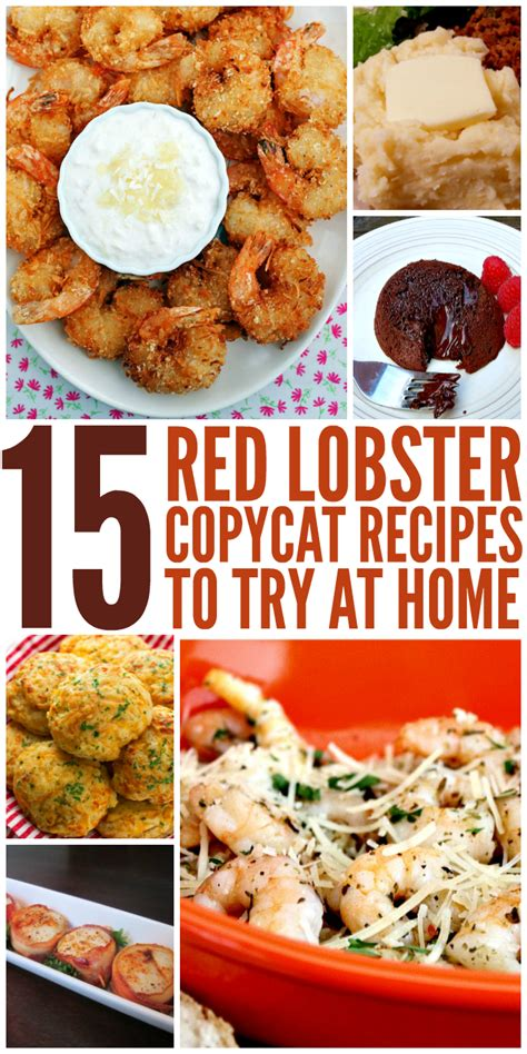 recipes to try 15 red lobster copycat recipes to try at home