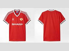 adidas Originals Retro Manchester United Shirt Hand of Blog FOOTYCOM