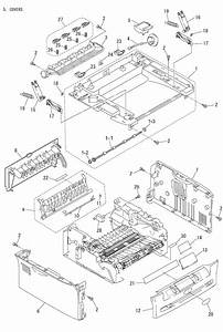 Brother Dcp 7020 Parts List And Illustrated Parts Diagrams