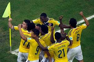 FIFA World Cup: Colombia Dance Their Way Into The Quarters ...