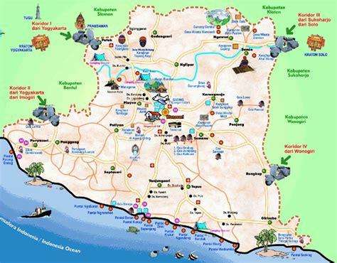map wonosari yogyakarta