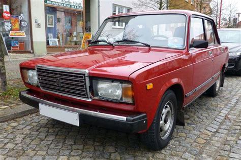 Lada 2107 Letzte Auslieferungsversion Für Die Ddr In