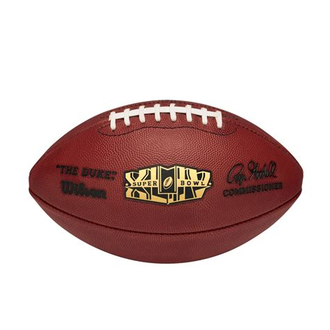 nfl super bowl xliv leather game football pro pattern