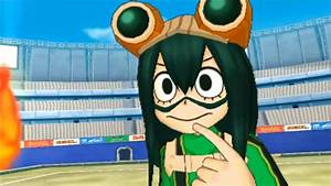 My Hero Academia Battle For All 3DS Tsuyu Story BEST