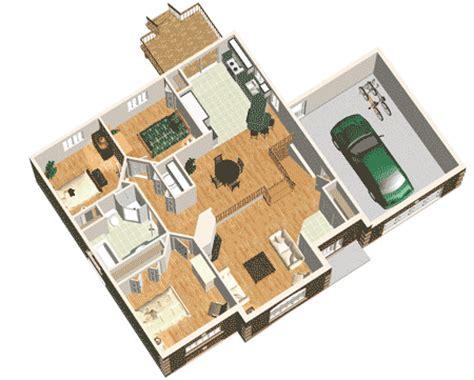 simple  bedroom house plan pm st floor