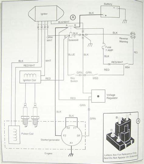 Gas Ezgo Wiring Diagram Golf Cart