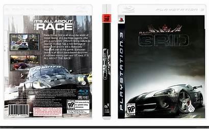 Grid Driver Race Box Ps3 Playstation 2008