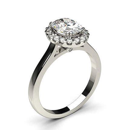 4 prong setting halo engagement ring diamonds factory uk