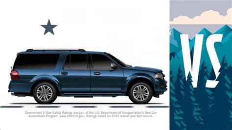 Ford Dealership Dallas Tx by 2016 Chevy Suburban Vs 2016 Ford Expedition El Near Plano