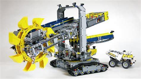 lego technic 42055 lego technic 42055 wheel excavator demo