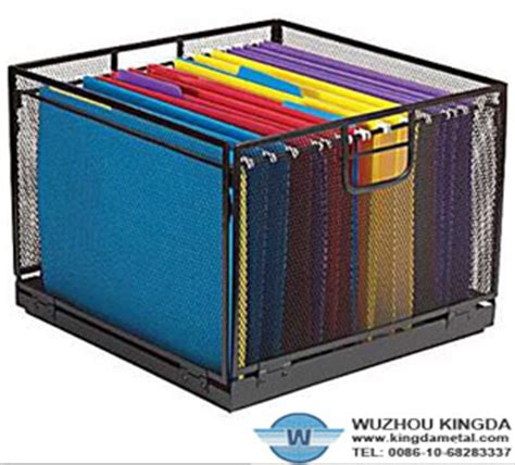 mesh wire file organizermesh wire file organizer