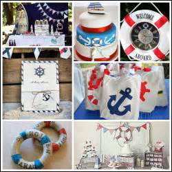 nautical themed party ideas  inspiration party
