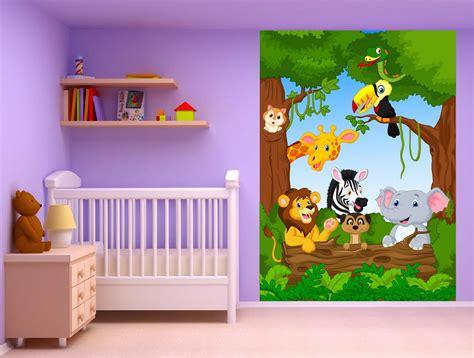 stickers animaux chambre b饕 stickers animaux chambre bébé inspirations avec stickers gaant enfant photo megamaster co