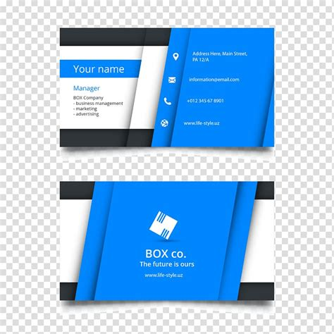 visiting card templates clipart   cliparts