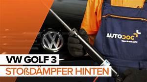 Stoßdämpfer Golf 6 : wie vw golf 3 sto d mpfer hinten wechseln tutorial ~ Kayakingforconservation.com Haus und Dekorationen
