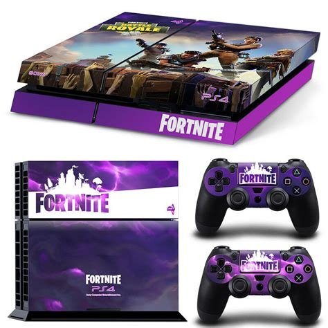 fortnite playstation  ps skin wrap sticker decal console