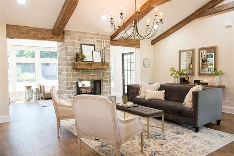 Fixer Upper, Living Room, Home