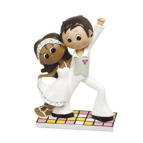 photo de mariage mixte figurine gateau mariage mixte