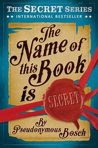 """The Name of This Book is SECRET"" at Usborne Children's Books"