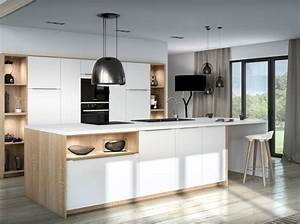 je veux une cuisine scandinave elle decoration With idee deco cuisine avec deco sejour scandinave