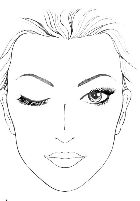 makeup template blank mac charts makeup anarchist pictures my style charts pictures and